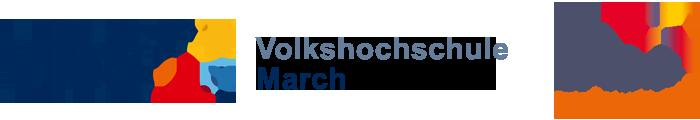 Volkshochschule March - VHS March - Weiterbildung, Erwachsenenbildung, EDV-Kurse, Sport logo